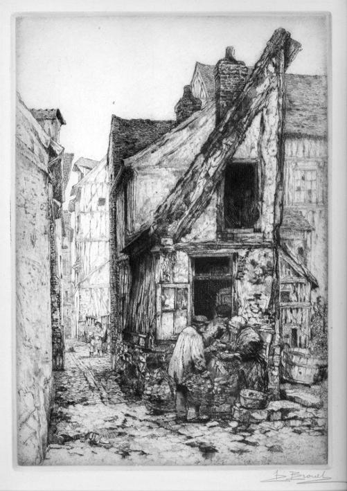Old Street in Rouen