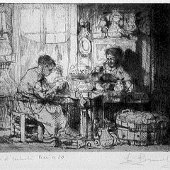 Auguste Brouet - Eau-forte - The Engravers