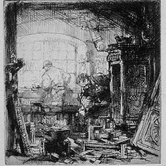 Auguste Brouet - Eau-forte - The Cabinet Makers
