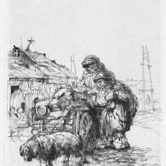 Auguste Brouet - Eau-forte - The Small Rag-Pickers